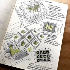 Conceptual Architecture, Architecture Design, Cool Sketches, Amazing Sketches, Cute Girls, Facade, Repurposed, How To Plan, Drawings