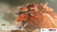 "CGI VFX Commercial ""THE SEIGE"". Fantastic & Adventurous Animated TV Spot..."
