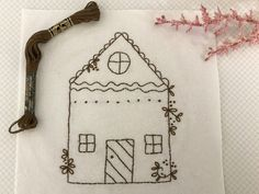 Gingerbread village block 1 free block of the month