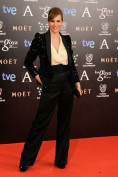 Mar Regueras in Lorenzo Caprile - Goya Awards Red Carpet 2014
