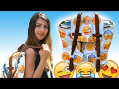 DIY Emoji Backpack For Back To School! ☺️ #Fashion #Trusper #Tip