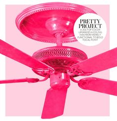 Wallpaper the fan blades add ceiling pop of pink makeovers wallpaper the fan blades add ceiling pop of pink makeovers pinterest fan blades blade and ceilings aloadofball Image collections