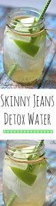 Skinny Jeans Detox Water Recipe