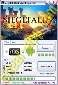 Siegefall Hack Cheats {GEMS-GOLD}