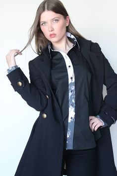 Must have Military coat! www.AMABILEStyle.com Happy Thanksgiving, Must Haves, Autumn Fashion, Raincoat, Military, Jackets, Style, Happy Thanksgiving Day, Rain Jacket