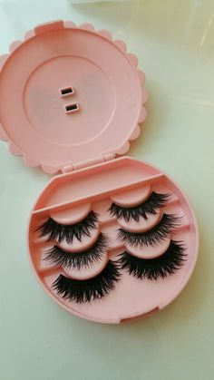 makeuploveart: My favorite furry House of Lashes lashes. Top-bottom: Iconic, Pixie luxe and Starlet