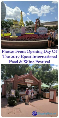 Photos of opening day of the 2017 Epcot International Food & Wine Festival at Walt Disney World Resort! :)