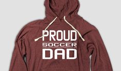 Soccer Dad Hoodie, Proud soccer dad hoodie to support your favorite student athlete