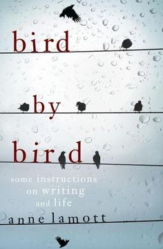bird by bird: some instructions on writing and life by anne lamott. This book has come up again and again when people have given advice on writing, I think I'm going to buy it this week. Anne Lamott, Reading Lists, Book Lists, Earth Book, Bird Book, Book Authors, Writing Inspiration, Love Book, So Little Time