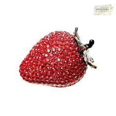 I found this amazing Swarovski Elements Vanity Strawberry Gift Jewelry Box - Red at nomorerack.com for 68% off.