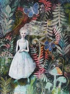 The Enchanted Night Garden, Maria Pace-Wynters