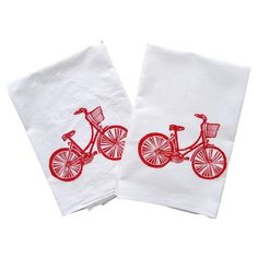 Bicyclette Kitchen Towel (Set of 2)