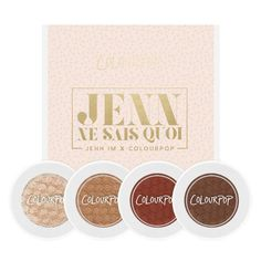 Colourpop Jenn Ne Sais Quad - https://www.calyxta.com/shop/make-up/eyes/colourpop-jenn-ne-sais-quad/#.V5-B2tIrJdg