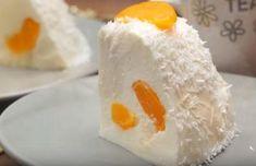 Sütés nélküli gyümölcsös tejfölös túrós torta - Blikk Rúzs Bacon, Dairy, Eggs, Cheese, Breakfast, Food, Xmas, Diet, Morning Coffee