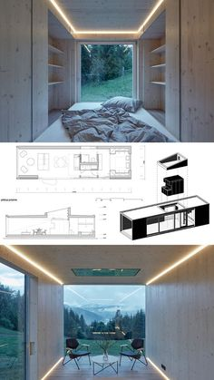 Into the Wild Into the WildArk-shelter architecture design home house Cabin Design, Small House Design, Wood Design, Contemporary Architecture, Interior Architecture, Mobile Architecture, Contemporary Houses, Sustainable Architecture, Residential Architecture