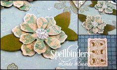 46 best paper flowers images on pinterest in 2018 fleurs en papier spellbinders flower play google search mightylinksfo
