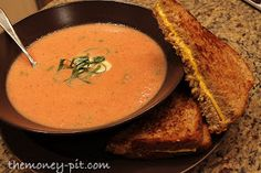 The Kim Six Fix: Creamy Crock Pot Tomato Basil Bisque