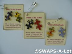 Piece of the Puzzle - easy for Daisies