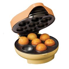Cake pops are a great addition to any party. The baker in your life will thank you for this Nostalgia Electrics Cake Pop and Donut Hole Maker ---making it much easier to create them!