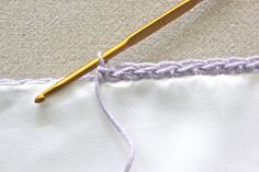 Crocheted Edge Pillowcases