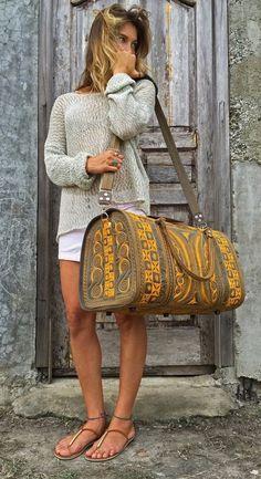Kuning Banda Bag - Street Fashion