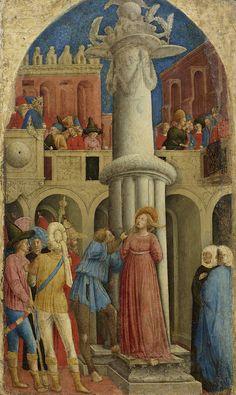 Antonio Vivarini - Il matrimonio di santa Monica - 1441 ca. – Venezia, Gallerie dell'Accademia