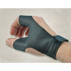LARP Right Hand Archery Leather Glove by Epic Armoury at Dragon Impact