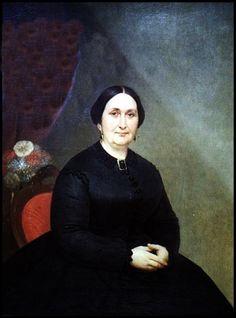 La señora de Arredondo - Pintura de Prilidiano Pueyrredón - 1868
