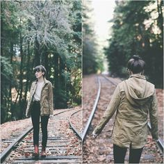 Kiana McCourt - Urban Outfitters Pants, Dolce Vita Boots, Forever 21 Jacket - The Redwoods Black Urban Fashion, Urban Fashion Girls, Urban Fashion Trends, Summer Shorts Outfits, Swag Outfits, Spring Fashion Outfits, Fashion Fall, Fashion Shoot, Winter Outfits