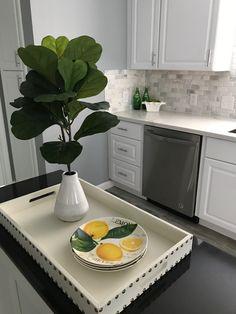 Kitchen Island Vignette by Maritza Ortega & Co. Kitchen Island Vignette, Home Staging, Vignettes, Simple, Ideas, Home Decor, Decoration Home, Room Decor, Interior Decorating