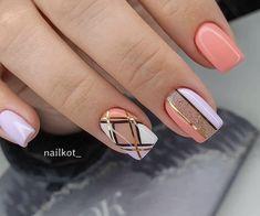 Nail Art Hacks, Gel Nail Art, Acrylic Nails, Pretty Nail Designs, Nail Art Designs, Toe Nails, Pink Nails, Classy Nail Art, Manicure E Pedicure