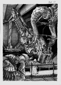 tonyhippy uploaded this image to 'Art/Workshop/Originals for sale'. See the album on Photobucket. Warhammer 40k Art, Warhammer 40k Miniatures, Warhammer Fantasy, Battlefleet Gothic, 40k Armies, Gundam Wallpapers, Game Workshop, Ink Pen Drawings, Military Art