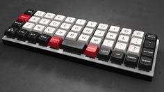 #Planck team  Keyset: #Overcast designed by @mito.rmk #mechanicalkeyboards #keycaps #DSA