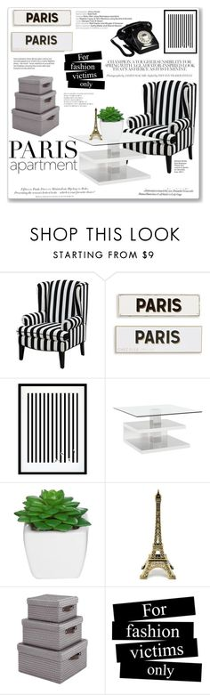 """Paris Apartament"" by sandrapopescu on Polyvore featuring interior, interiors, interior design, home, home decor, interior decorating, Rosanna, Eleanor Stuart, H&M and Whiteley"