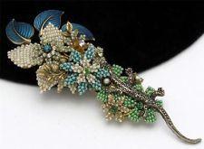 "Gorgeous 5.5"" Stanley Hagler Salamander Brooch  http://stores.ebay.com/atouchofrosevintagejewels"