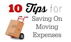 10 Tips for Saving on Moving Expenses