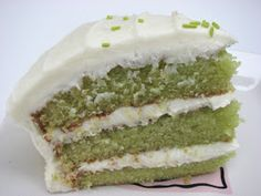 Key Lime Cake, very moist 1 3-oz package lime-flavored gelatin ■1⅓ cups granulated sugar ■2 cups sifted all-purpose flour ■½ tsp salt ■1 tsp baking powder ■1 tsp baking soda ■5 large eggs, slightly beaten ■1½ cups vegetable oil ■¾ cup orange juice ■1 Tbsp lemon juice ■½ tsp vanilla extract ■½ cup Key lime juice (from about 25 small Key limes or 4 large regular limes) ■½ cup confectioners' sugar