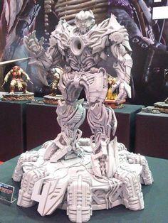 image_zpsknxtdxrk Prime-1 Studio Transformers Age Of Extinction Galvatron Statue At Wonder Festival 2015
