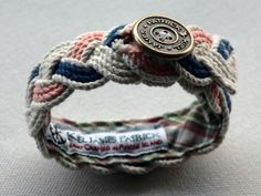 cute rope bracelet! would love this, wonder if it would be easy to make