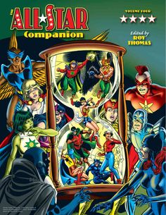 The epic series of All-Star Companions goes out with a bang, featuring: Colossal coverage of the Golden Age All-Star Comics! Sensational secrets of the Junior Justice Society! An index of the complete