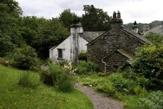 """Dove Cottage. Grasmere England. Home of William Wordsworth - """"The loveliest spot that man hath ever found."""""""