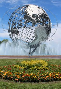 The Unisphere, Flushing Meadows–Corona Park in the borough of Queens, New York City