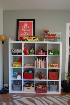 This would keep my boy's room a bit more organize.