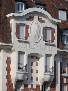 Hôtel Westminster (1924, art déco), avenue du Verger, Le Touquet-Paris-Plage, Picardie, Pas-de-Calais, Hauts de France, France. | par byb64