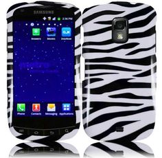 Buy For Samsung Galaxy S Lightray 4G R940 Hard Design Cover Case Zebra NEW for 3.99 USD | Reusell