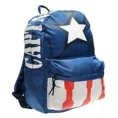 Marvel Captain America reppu Marvel Captain America, Marvel Avengers, Backpacks, Zip, Classic, Bags, Character, Fashion, Derby