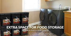 How To Create Extra Space for Food Storage – 14 Ideas To Stretch A Small Footprint