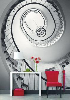 Wandbild Spiral