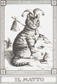 "Osvaldo Menegazzi - ""Il Matto"" - Tarot card - 1990 --> http://All-About-Tarot.com <--"