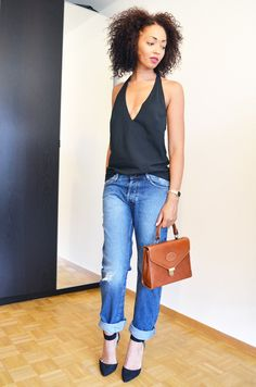 #mercredie #blog #blogger #mode #fashion #wear #it #like #me #wilm #projet #blogueuses #bloggeuses #virginie #castaway #backless #top #back #less #jean #Boyfriend #noeud #asos #black #afro #hair #curls #curly #nappy #natural #hermès #bag #cartable #vintage #purse #eyebrows #eyebrow #thin